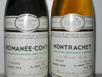 Most expensive dry white wine: Le Montrachet 1978