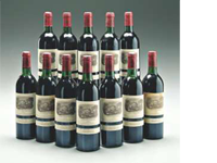 Most expensive lot of wine: Mouton-Rothschild 1982