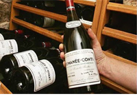 Most expensive lot of red burgundy: Romanée Conti 1985